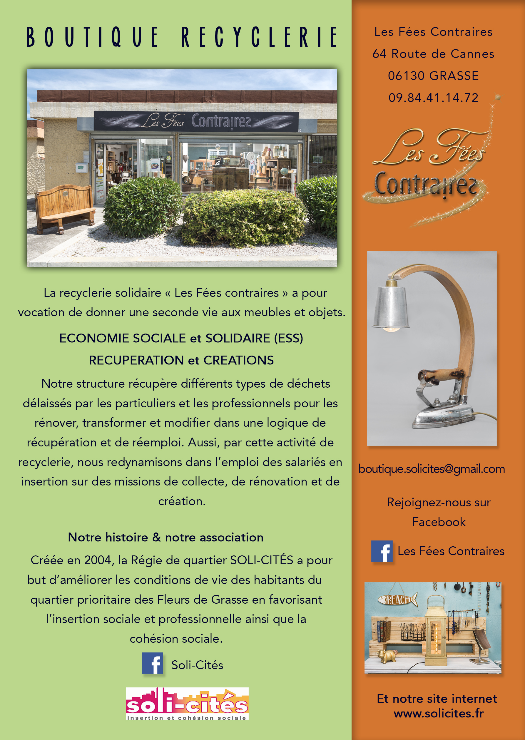 FLYER Boutique Recyclerie 2018